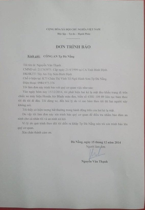 Nguyen Van Thanh